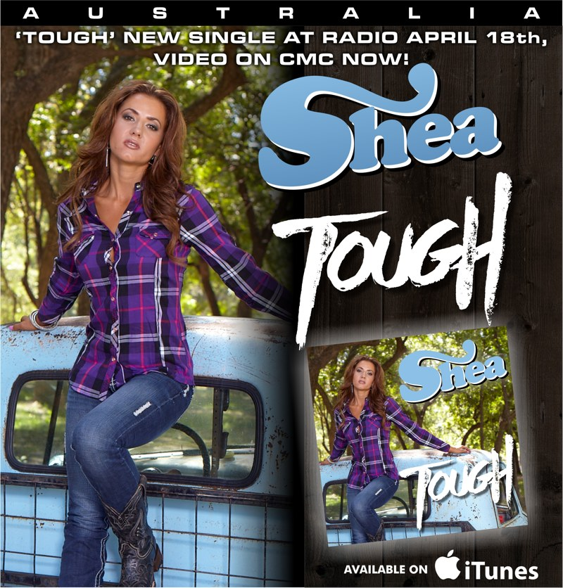 Shea Fisher - Itunes Release Ad TOUGH - Soc Med - AUS VERSION